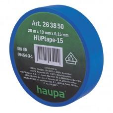 263850 Изолента ПВХ 19мм х 20м синяя HAUPA
