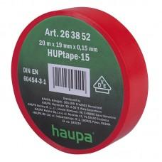 263852 Изолента ПВХ 19мм х 20м красная HAUPA