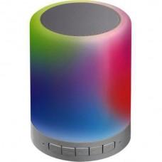 ПОРТАТИВНЫЙ BLUETOOTH ДИНАМИК С RGB ПОДСВЕТКОЙ 5W 30lm RGBW SYLV 0053650