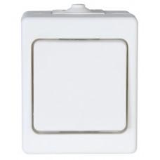5636.0400.2 Выключатель проходной накладной IP44 серый