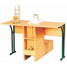 Стол лабораторный химический (с мойкой,покрытие – пластик)