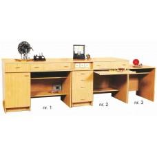 Стол демонстрационный физический №1 (с розетками) (1200х750х900)