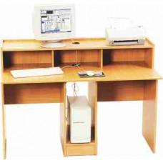 Стол для кабинета информатики двухместный 1404х704х996