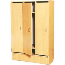 Шкаф для детской одежды (трехместный) (880х350х1320)
