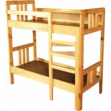 Кроватка детская 2-х ярусная из натур. древес.(1450х700х1450)